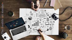 イメージ画像 経営にデザインを取り入れるデザイン経営を解説します。